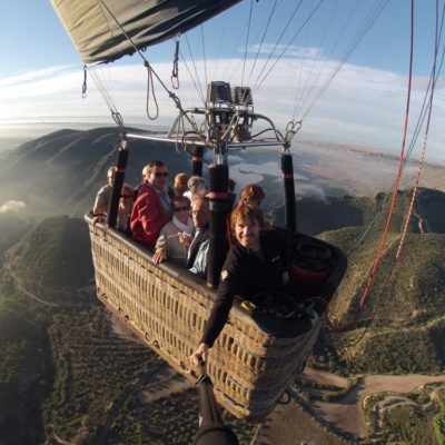 All the things you can do in a hot air balloon