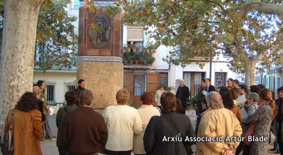 Literature and history along the streets of Benissanet