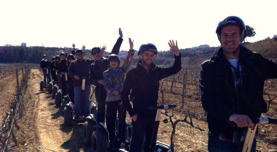 The Segway: the wine lovers' new ally