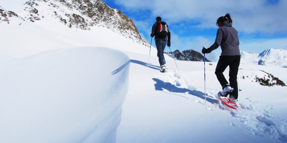 Snowshoeing in Tavascan.