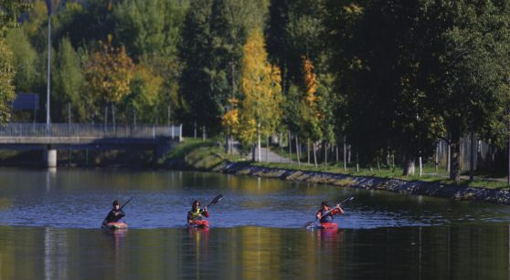 The Segre Olympic Park