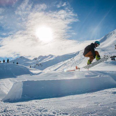 Snowpark. © Boí Taüll